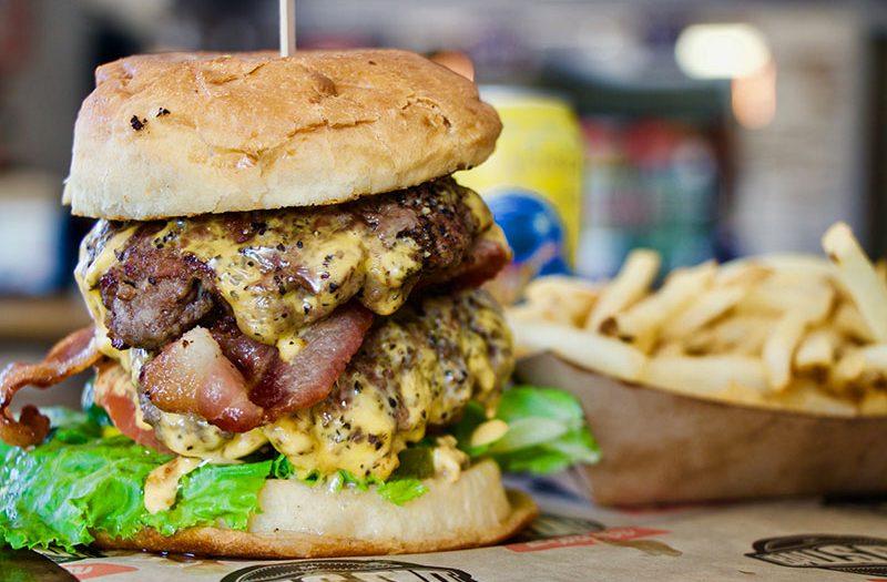 Food Photography Example Hamburger - White Beard Photography